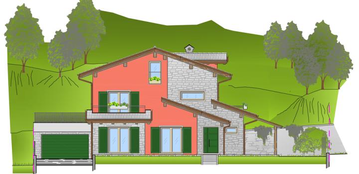 Realizzazioni milesi gianluca for Piani di garage di cottage