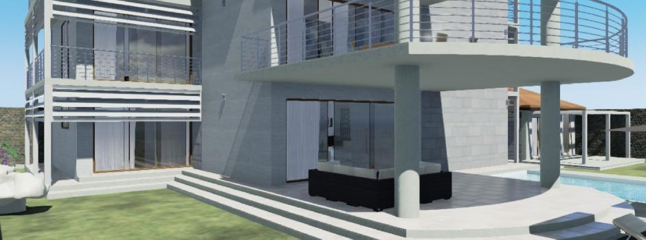 Studio nuova villa unifamiliare